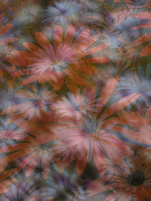 In The Garden Art Print by Eileen Shahbazian