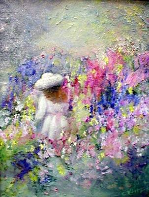 Painting - In The Garden by Gail Kirtz