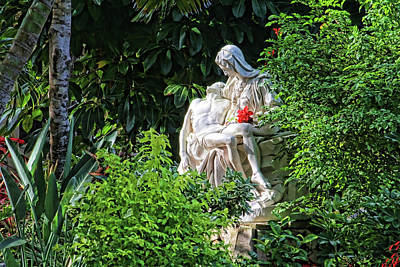 Photograph - In The Garden by HH Photography of Florida