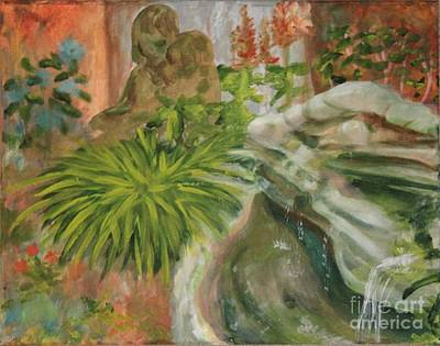 Painting - In The Garden by Terri Thompson