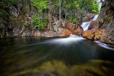 Photograph - In The Gorge At Smalls Falls by Rick Berk