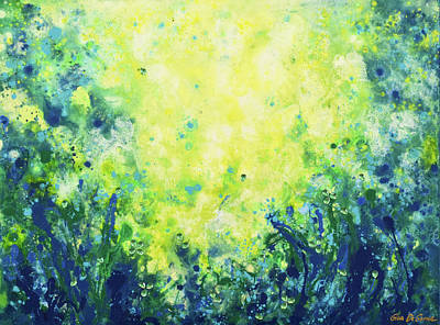 Painting - In The Grass by Gina De Gorna