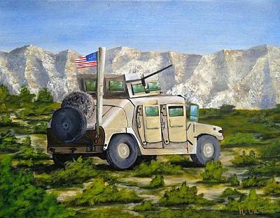 Afghanistan Painting - In The Graveyard Of Empires by Holly Chambers