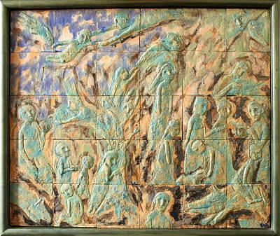 In The Green Mist Art Print by Raimonda Jatkeviciute-Kasparaviciene