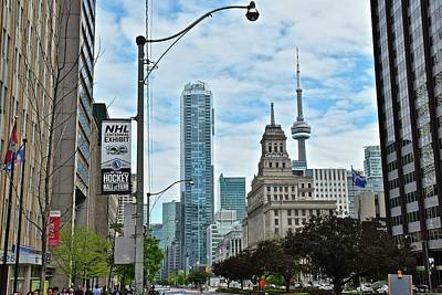 Photograph - In The Heart Of Toronto Canada by Frozen in Time Fine Art Photography
