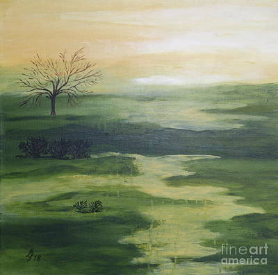 Painting - In The Highlands by Christiane Schulze Art And Photography