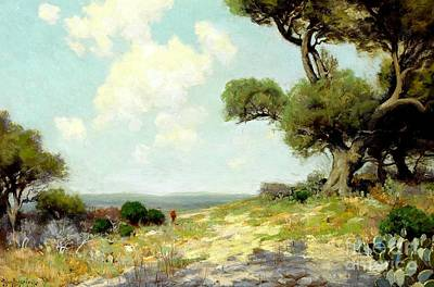 Painting - In The Hills Of Southwest Texas 1912 by Peter Gumaer Ogden Collection