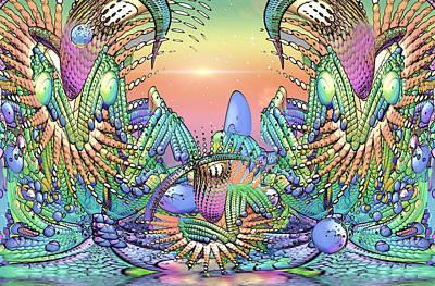 Loon Digital Art - In The Land Of Corn... by Phil Sadler