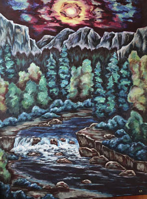 Painting - In The Land Of Dreams by Cheryl Pettigrew