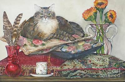 Painting - In The Lap Of Luxury by Jane Loveall