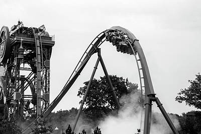 Rollercoaster Photograph - In The Loop by Adriana Zoon