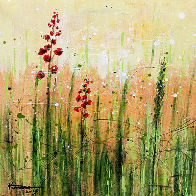 Painting - In The Meadow by Kume Bryant