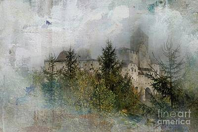 Mixed Media - In The Mist by Eva Lechner