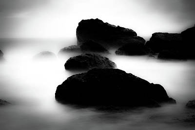 Ethereal Dreamy Ocean Photograph - In The Mist by Marnie Patchett
