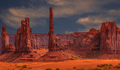 Photograph - In The Moment -monument Valley by Tim Bryan