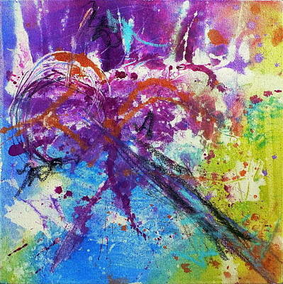 Painting - In The Moment by Tracy Bonin