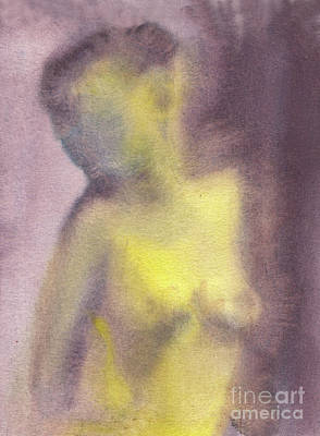 Nudes Royalty-Free and Rights-Managed Images - In the Morning Light by Michal Boubin