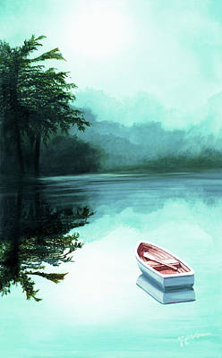 In The Morning Mist - Prints From My Original Oil Painting Art Print