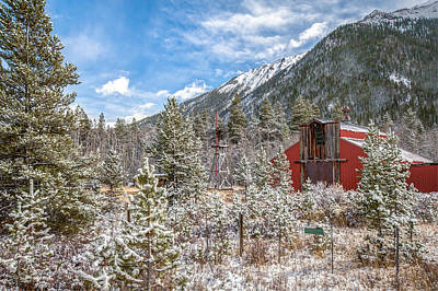 Mountain Royalty-Free and Rights-Managed Images - After the Snow by Gregory Ballos