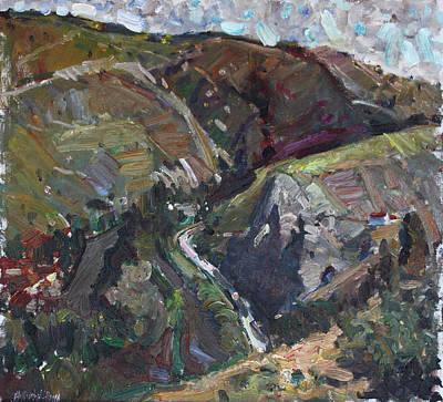 Painting - In The Mountains Of Macedonia by Juliya Zhukova