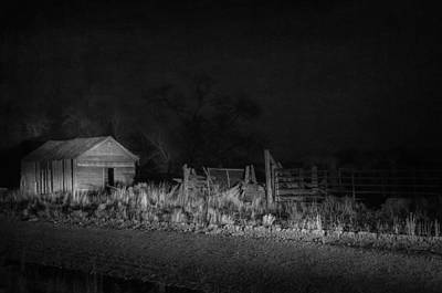 Haunted House Photograph - In The Night Series 10 by Ami Poindexter