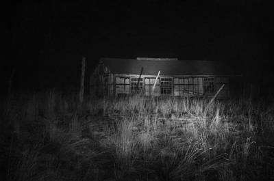 Haunted House Photograph - In The Night Series 11 by Ami Poindexter