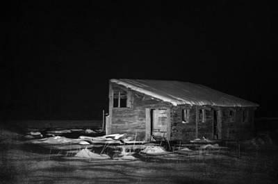 Haunted House Photograph - In The Night Series 6 by Ami Poindexter