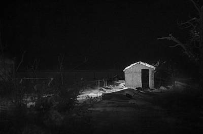 Haunted House Photograph - In The Night Series 7 by Ami Poindexter