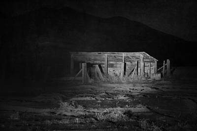 Haunted House Photograph - In The Night Series 8 by Ami Poindexter