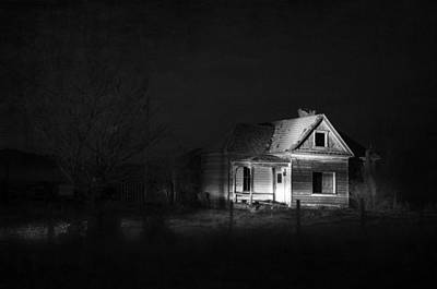 Haunted House Photograph - In The Night Series 9 by Ami Poindexter