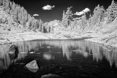 Designs In Nature Photograph - In The North Cascades by Jon Glaser