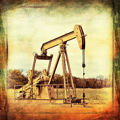 Photograph - In The Oil Field by Ann Powell