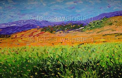Painting - In The Open by Felicia Weinstein