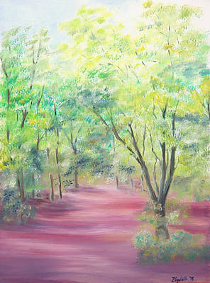 Painting - In The Park by Elizabeth Lock