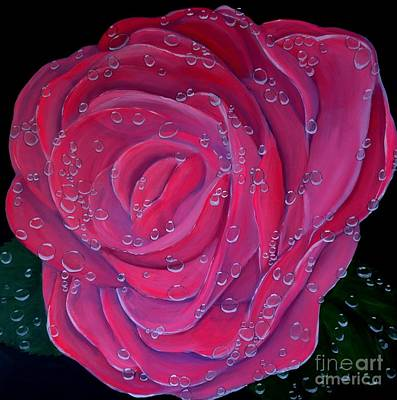 Painting - In The Pink by Karen Jane Jones