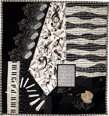 Tapestry - Textile - In The Pits by Loretta Alvarado