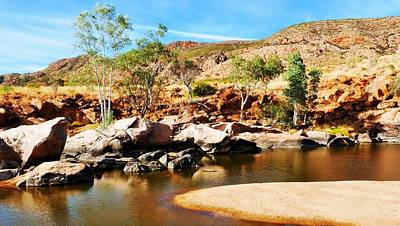 Photograph - In The Pound - Ormiston Gorge by Lexa Harpell