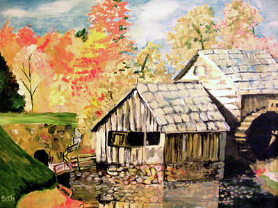 Painting - In The Quiet Moments by Seth Weaver