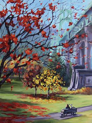 Painting - In The Rainbow by Karen Ilari