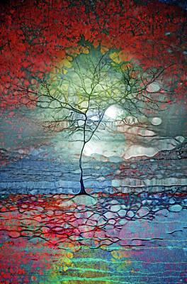 Digital Art - In The Red by Tara Turner