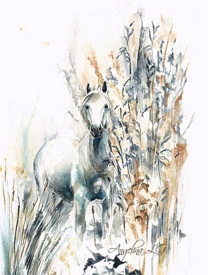 Painting - In The Rye by Angelina Ligomina