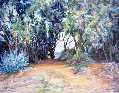 In The Shade Of Trees ... Original by Maya Bukhina