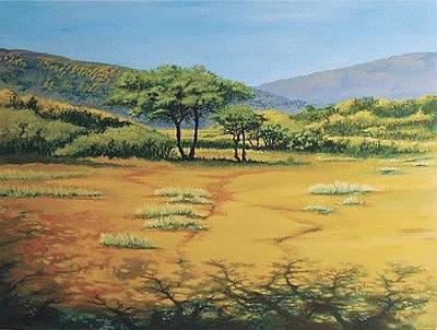 Painting - In The Shdows by Deon West