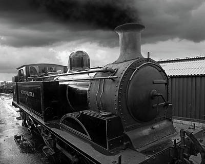 Photograph - In The Siding - Metropolitan Steam Train by Gill Billington