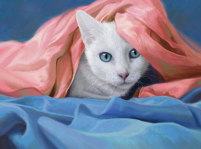 Digital Art - In The Silk by Lucie Bilodeau