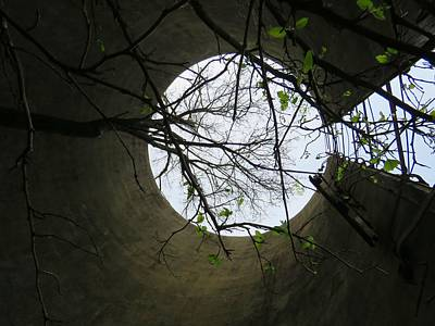 Photograph - In The Silo by Keith Stokes