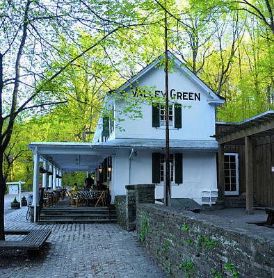 Photograph - In The Spring At Valley Green Inn by Bill Cannon