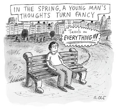 Drawing - In The Spring by Roz Chast