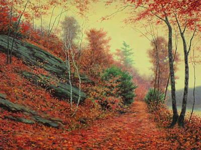 In The Still Of Autumn Original by Barry DeBaun