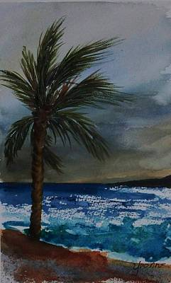In The Storm Art Print by Yvonne Kinney